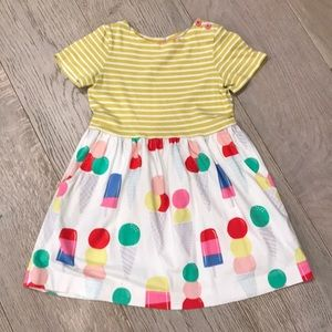 Mini Boden ice cream dress with pockets, 3-4 year